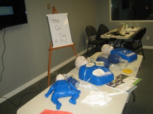 First Aid and CPR Training course with the Canadian Red Cross