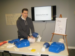 First Aid and CPR Training courses in Kelowna