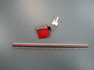 Pocket Mask Keychain