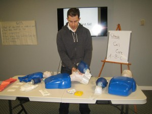 Canadian First Aid Courses in Red Deer