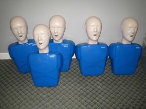 CPR training equipment