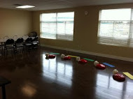 Training room set up at one of our providers